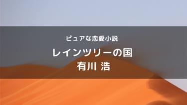 レインツリーの国の感想・あらすじ【←心が温かくなる恋愛小説】